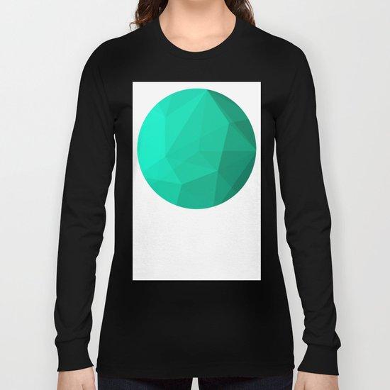 Geometric Polygonal Pattern 01 Long Sleeve T-shirt