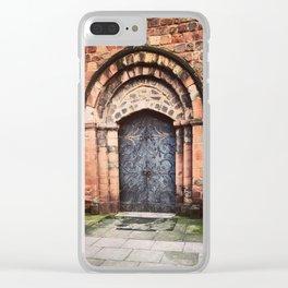 Shrewsbury's St. Mary's Entrance Clear iPhone Case
