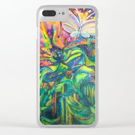 Wonder flower Clear iPhone Case