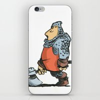 soldier iPhone & iPod Skins featuring Soldier by Inigo Izal