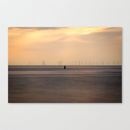 Wind Silhouette Canvas Print