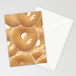 Glazed Donut Stationery Cards