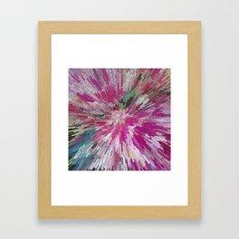 Abstract flower pattern 3 Framed Art Print