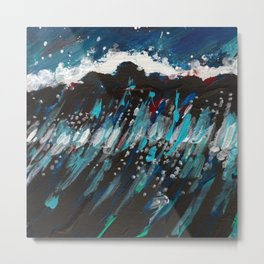 Night Swell Metal Print