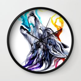 Smoke Signals Wall Clock