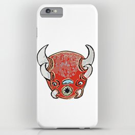 Red Bison  iPhone Case