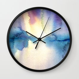 The Light's Reflection Wall Clock
