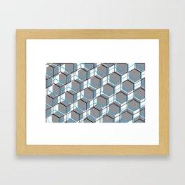 Tri-cubed Framed Art Print