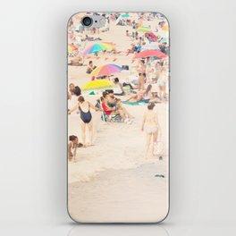 Beach Crowd iPhone Skin