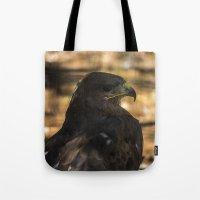hawk Tote Bags featuring Hawk by Veronika