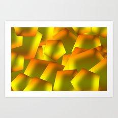 Green design Art Print