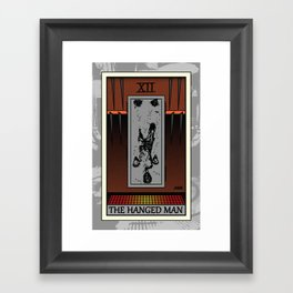 The Hanged Man - Tarot Card Framed Art Print