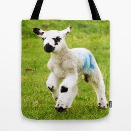 Gamboling Lamb Tote Bag