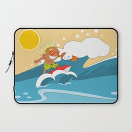 Non Olympic Sports: Surfing Laptop Sleeve