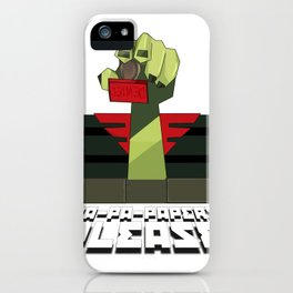 PA-PA-PAPERS, PLEASE!!! iPhone Case