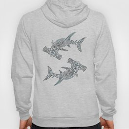 Tribal Hammerhead Shark Hoody
