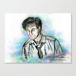 Hello, Amelia Pond... Canvas Print