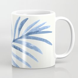 Blue Leaves II Coffee Mug