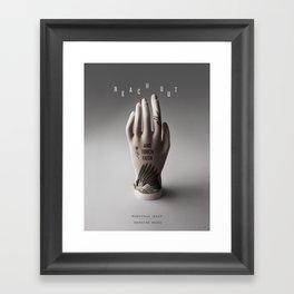 Reach Out and Touch Faith Framed Art Print