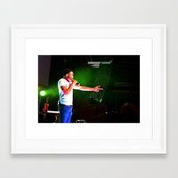 childish gambino Framed Art Prints featuring Childish Gambino by Ashley Overton
