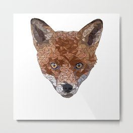 Felix the Fox Metal Print