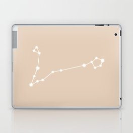 Pisces Zodiac Constellation - Warm Neutral Laptop & iPad Skin