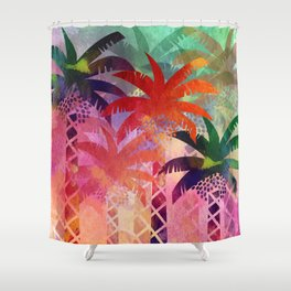Date Palm Oasis Shower Curtain