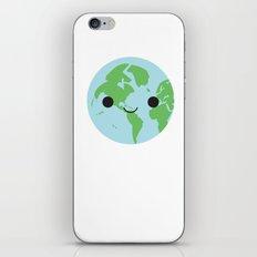 Happy Earth iPhone & iPod Skin