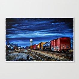 Thunder on the Rails Canvas Print