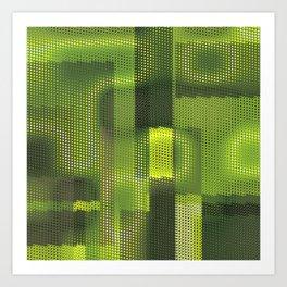 Cyber Lizard 2100 Art Print