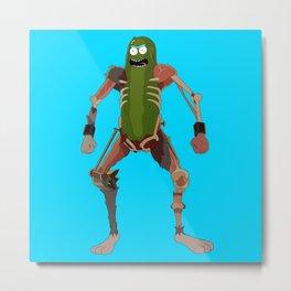 Ultimate Pickle Metal Print