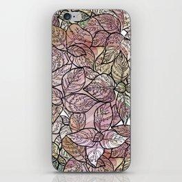 color leaf iPhone Skin
