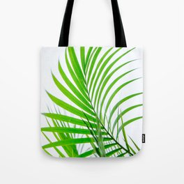 Simple palm leaves paradise Tote Bag