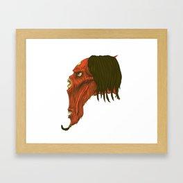 Plucker Framed Art Print