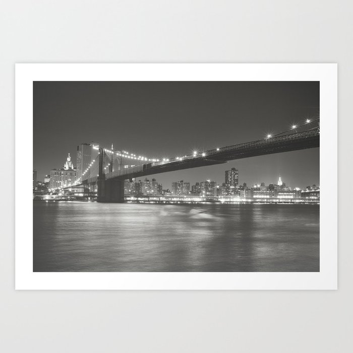NYC Skyline Art Print