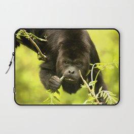 Howler monkey Laptop Sleeve