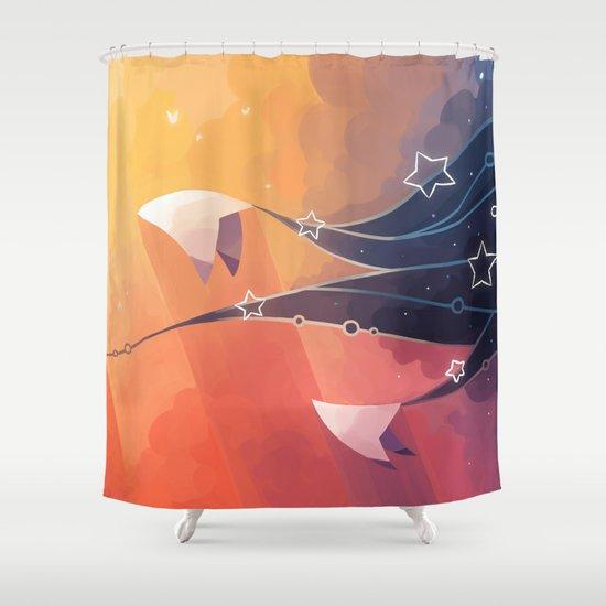 Nightbringer Shower Curtain