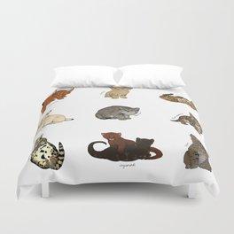 Kittens Worldwide Duvet Cover