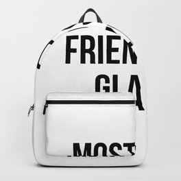 funny glazier Backpack