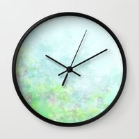 easter Wall Clocks featuring Easter by Sadie