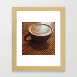 King's Cappuccino Framed Art Print