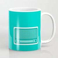 radio Mugs featuring radio by brittcorry