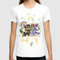 jojo T-shirts featuring JoJo & Caesar JJBA Battle Tendency by Lemonade Stand Of Life