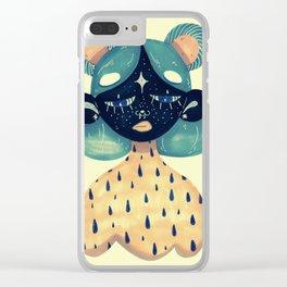 sunday girl Clear iPhone Case