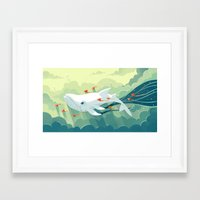 freeminds Framed Art Prints featuring Nightbringer 2 by Freeminds