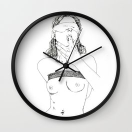 Bondage Wall Clock