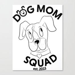 Staffy Squad Canvas Print