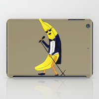 banana leaf iPad Cases featuring Banana by Anna Shell
