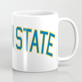 Golden State Sports College Font Coffee Mug