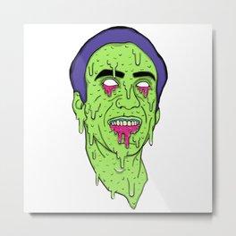 Slime Cage Metal Print